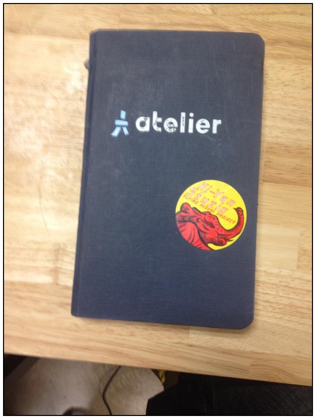 Le cahier de base (version avec autocollant)
